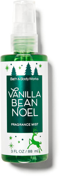 Vanilla Bean Noel Travel Size Fine Fragrance Mist
