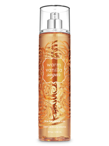 Warm Vanilla Sugar Fine Fragrance Mist - Bath And Body Works