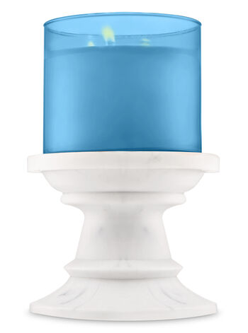 Marble Pedestal 3-Wick Candle Holder - Bath And Body Works