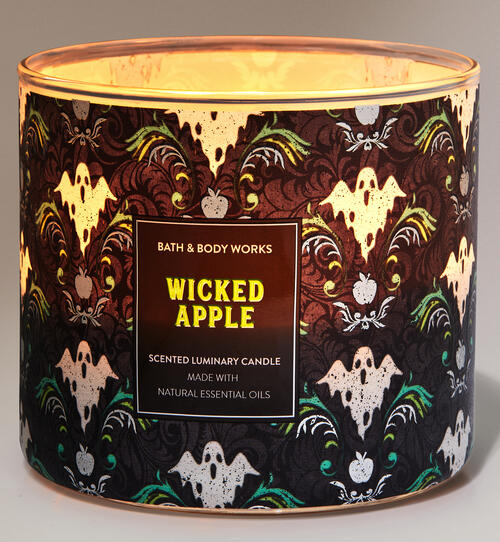 Wicked Apple 3-Wick Candle