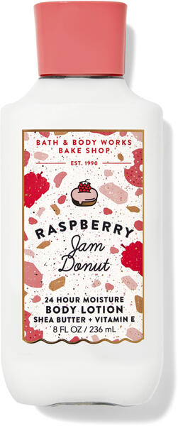 Raspberry Jam Donut Super Smooth Body Lotion