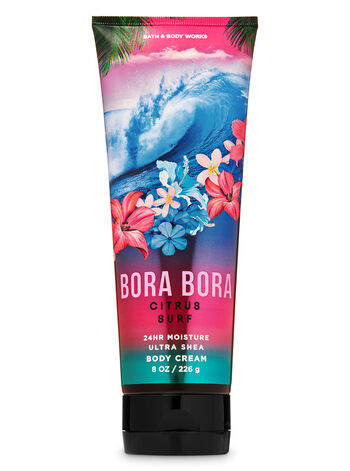 Bora Bora Citrus Surf Ultra Shea Body Cream - Bath And Body Works