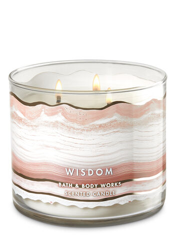 Quartz Crystal 3-Wick Candle - Bath And Body Works
