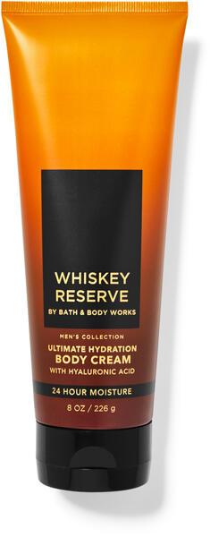 Whiskey Reserve Ultimate Hydration Body Cream