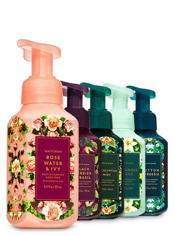 Fresh Greens & Blooms Gentle Foaming Hand Soap, 5-Pack - Bath And Body Works