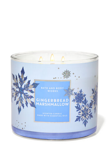 Gingerbread Marshmallow 3-Wick Candle