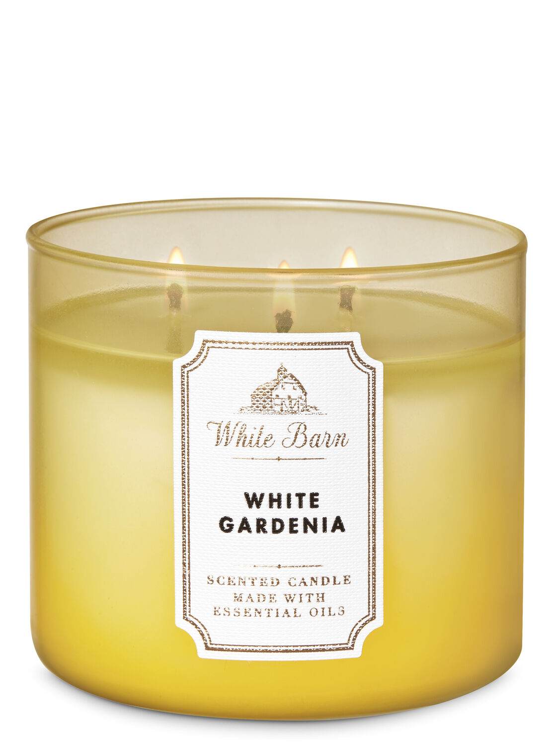 DW Home Peony Blossom Large 3 Wick Candle with Beautiful Floral Lid