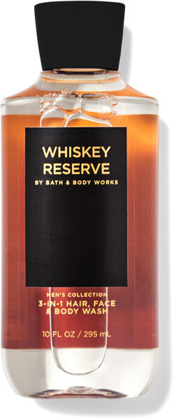 Whiskey Reserve 3-in-1 Hair, Face & Body Wash