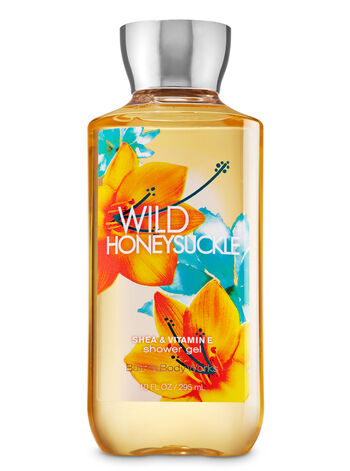 Signature Collection Wild Honeysuckle Shower Gel - Bath And Body Works