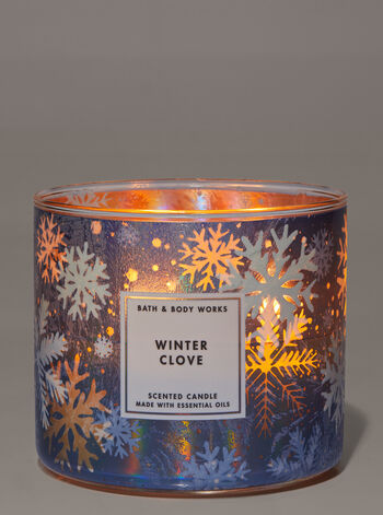 Winter Clove 3-Wick Candle