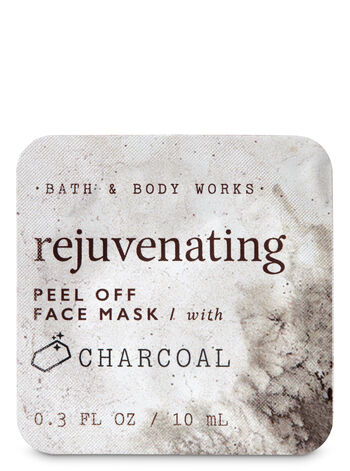 Rejuvenating with Charcoal Peel Off Face Mask - Bath And Body Works