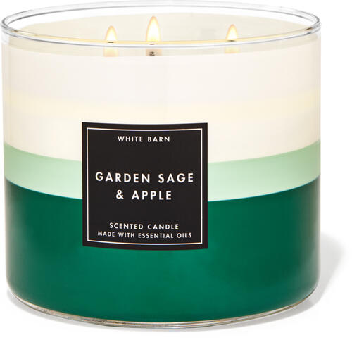 Garden Sage & Apple 3-Wick Candle