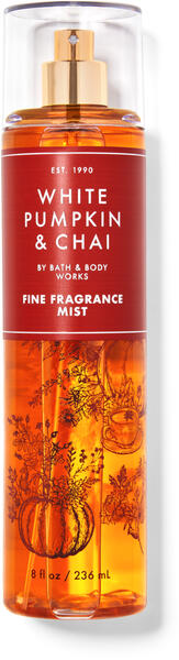 White Pumpkin & Chai Fine Fragrance Mist