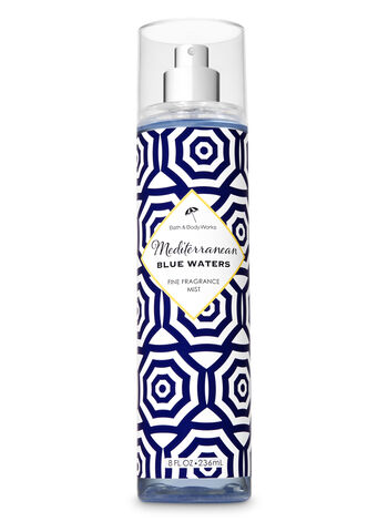 Signature Collection Mediterranean Blue Waters Fine Fragrance Mist - Bath And Body Works