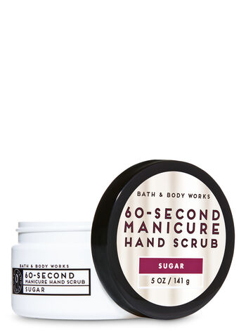 Sugar 60-Second Manicure Hand Scrub - Bath And Body Works