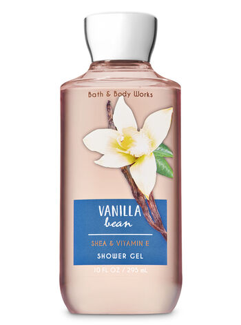 Signature Collection Vanilla Bean Shower Gel - Bath And Body Works