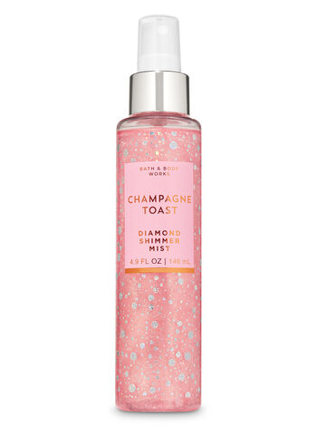 Champagne Toast Diamond Shimmer Mist - Bath And Body Works