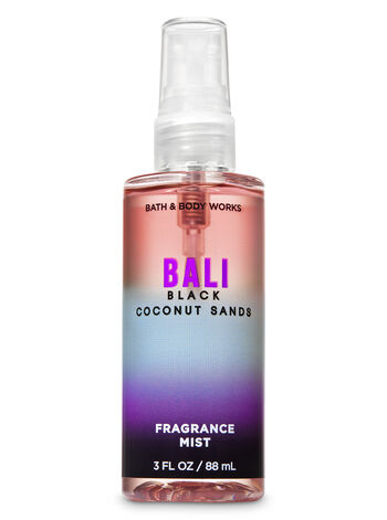 Bali Black Coconut Sands Travel Size Fine Fragrance Mist - Bath And Body Works
