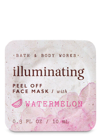 Illuminating with Watermelon Peel Off Face Mask - Bath And Body Works