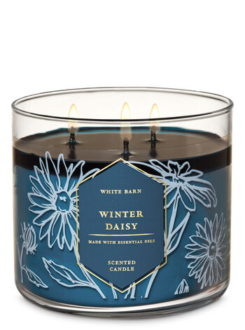 Winter Daisy 3-Wick Candle - Bath And Body Works