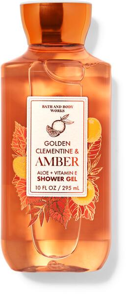 Golden Clementine & Amber Shower Gel