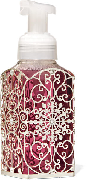 Ornate Snowflake Scroll Gentle Foaming Soap Holder