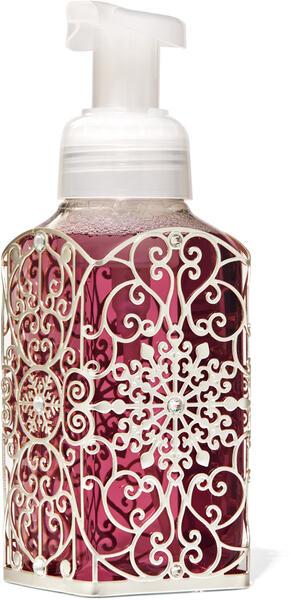 Ornate Snowflake Scroll Gentle Foaming Soap Holder
