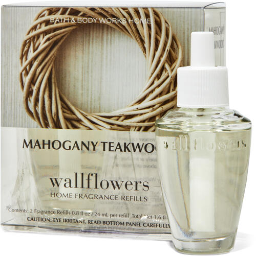 Mahogany Teakwood Wallflowers Refills 2-Pack