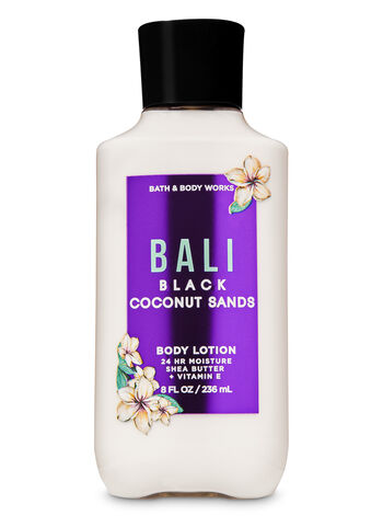 Bali Black Coconut Sands Super Smooth Body Lotion - Bath And Body Works