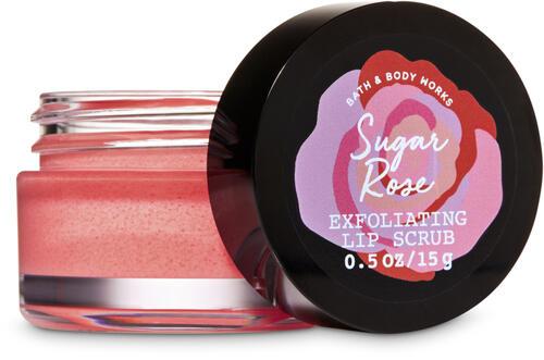 Sugar Rose Exfoliating Lip Scrub