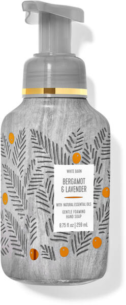 Bergamot & Lavender Gentle Foaming Hand Soap