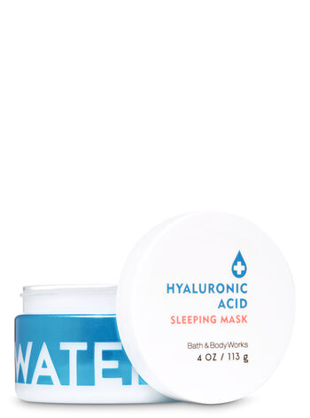 Signature Collection Water Hyaluronic Acid Sleeping Face Mask - Bath And Body Works