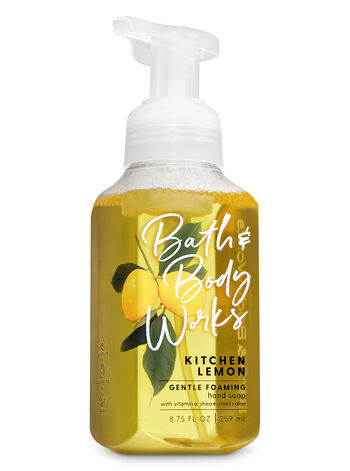 Kitchen Lemon Gentle Foaming Hand Soap - Bath And Body Works