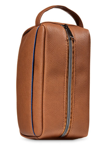 Faux Leather Men's Travel Toiletry Bag - Bath And Body Works
