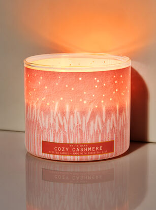 Cozy Cashmere 3-Wick Candle