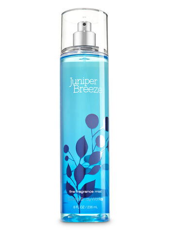 Signature Collection Juniper Breeze Fine Fragrance Mist - Bath And Body Works