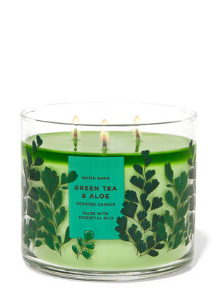 Green Tea & Aloe 3-Wick Candle
