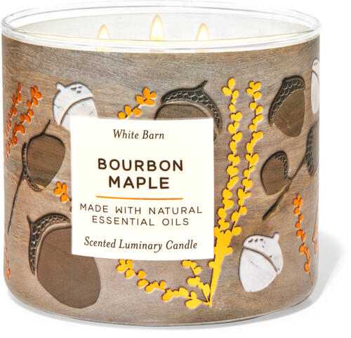 Bourbon Maple 3-Wick Candle