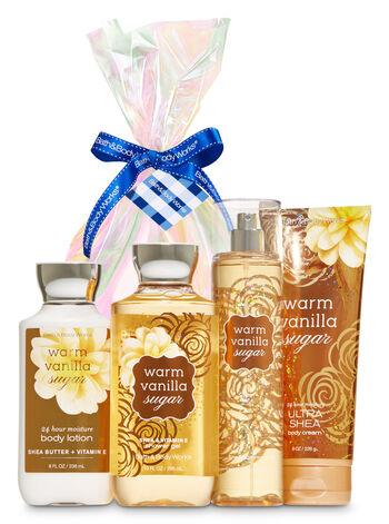 Warm Vanilla Sugar Iridescent Gift Kit - Bath And Body Works