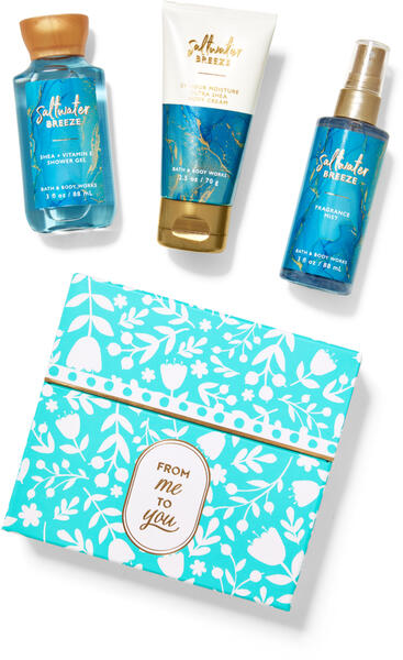 Saltwater Breeze Mini Gift Box Set