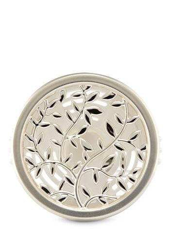 Silver Vines Vent Clip Car Fragrance Holder