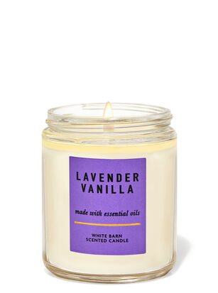 Lavender Vanilla Single Wick Candle