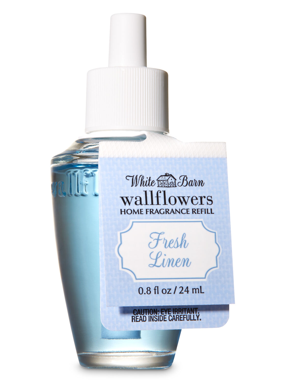 Fresh Linen Wallflowers Fragrance Refill White Barn Bath Body