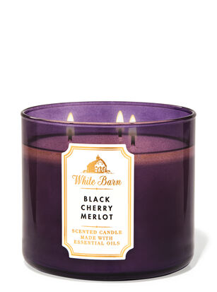 Black Cherry Merlot 3-Wick Candle