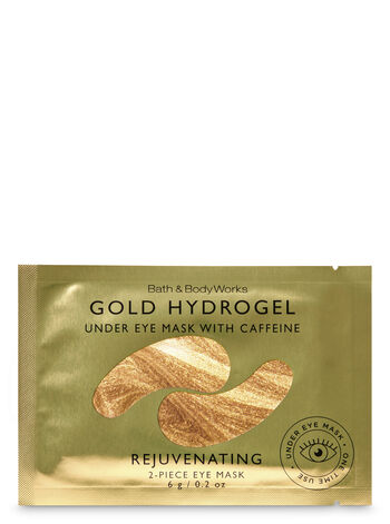 Gold Hydrogel with Caffeine Under Eye Mask