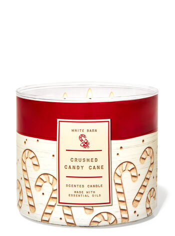 Crushed Candy Cane 3-Wick Candle
