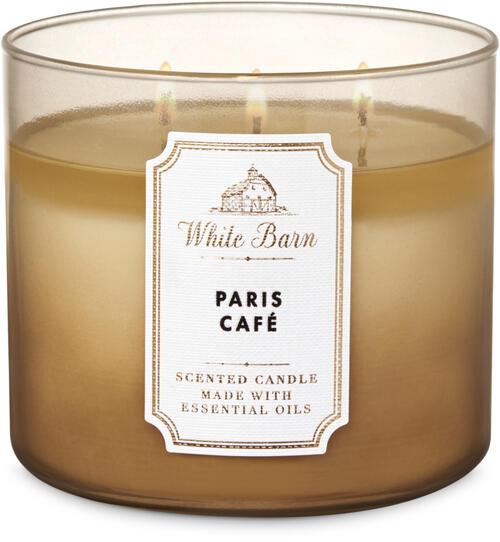 Paris Café 3-Wick Candle