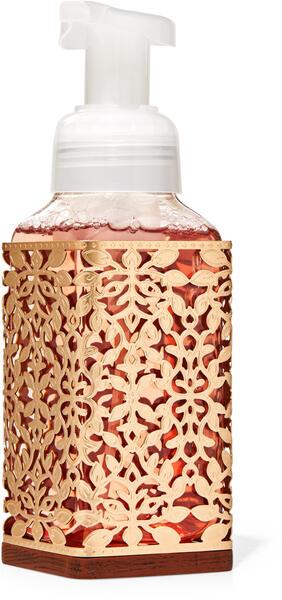 Gold Leaves Gentle Foaming Soap Holder
