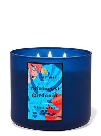 Rainforest Gardenia 3-Wick Candle