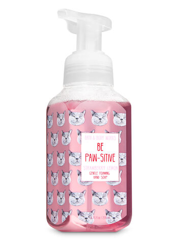 Strawberry Lemon Gentle Foaming Hand Soap - Bath And Body Works